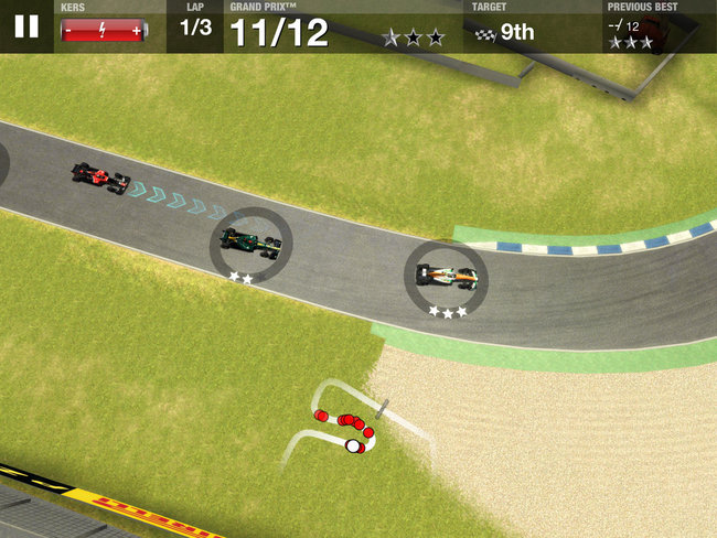 Officially licensed Formula One game hits iPad and iPhone: F1 Challenge - photo 3