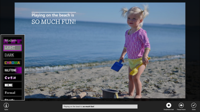 Microsoft Movie Moments with Windows 8.1: What it is and what it can do - photo 5