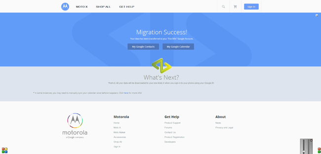 Motorola launches iCloud migration tool for Moto X, hoping to lure iPhone users - photo 4