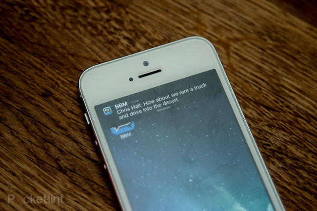 Hands-on: BBM for iPhone review - photo 8