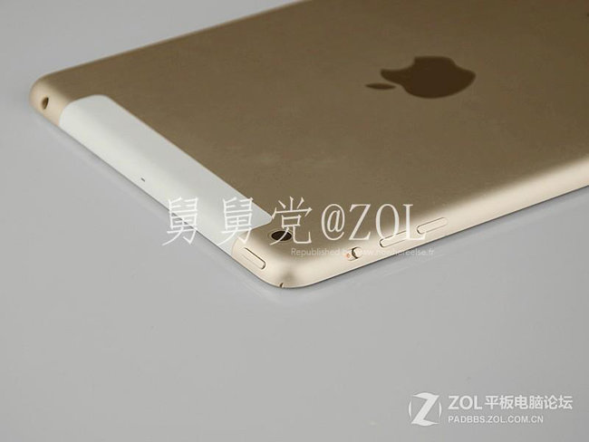 Alleged iPad mini 2 leaks in gold with Touch ID ahead of Apple event - photo 4