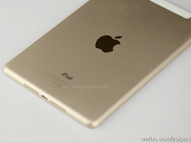 Alleged iPad mini 2 leaks in gold with Touch ID ahead of Apple event - photo 8
