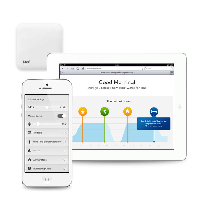 Tado: The smart heating system that turns the heating on before you get home - photo 3