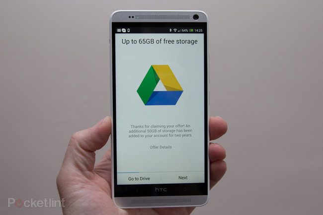 HTC One Sense 5.5 update to bring 25GB of Google Drive storage - photo 2