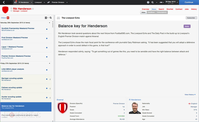 Football Manager 2014 review - photo 8