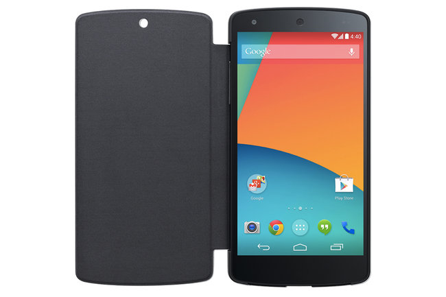 Google Nexus 5 Bumper Cases and QuickCover let you change colours and protect your new smartphone - photo 1