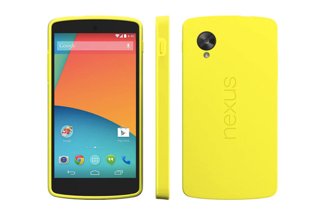 Google Nexus 5 Bumper Cases and QuickCover let you change colours and protect your new smartphone - photo 3