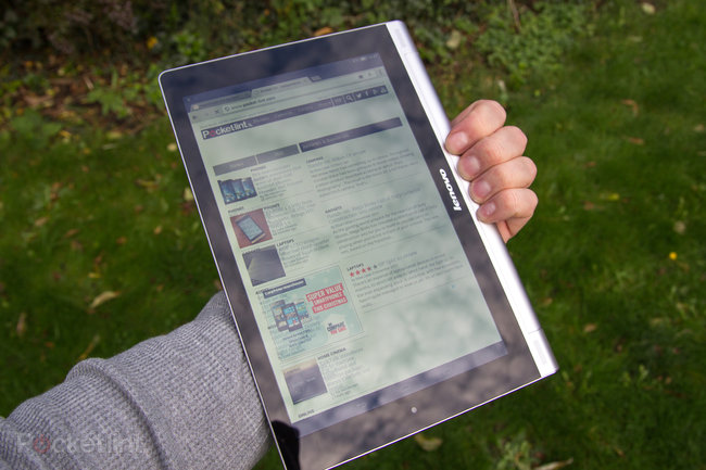 Lenovo Yoga Tablet 10 review - photo 3