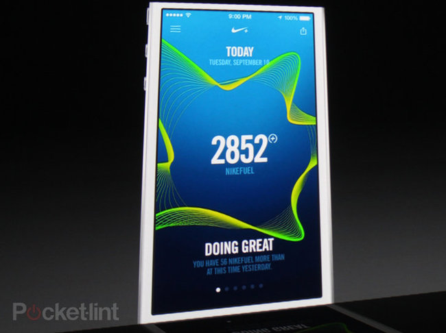 Nike+ Move, first motion app for iPhone 5S, released to the App Store - photo 1
