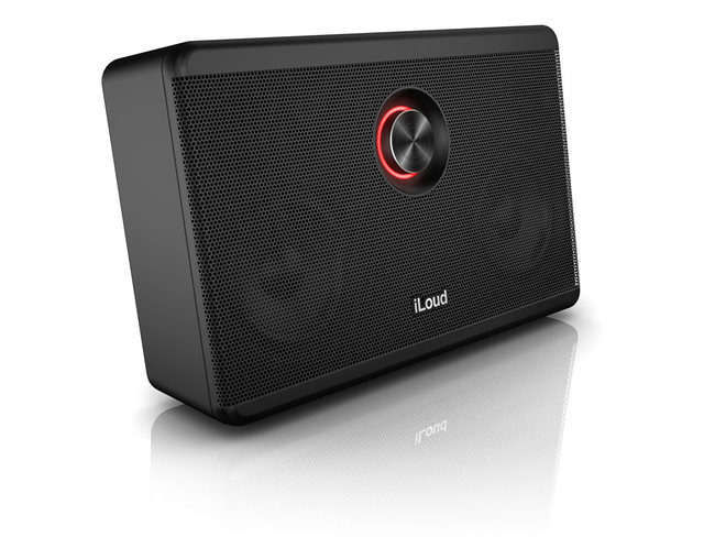 IK Multimedia announces iLoud, an iOS portable speaker for musicians - photo 2