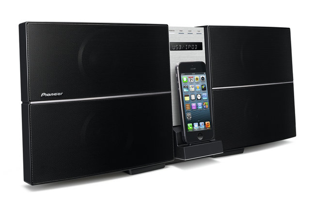 Pioneer announces range of Lightning dock speaker systems for December release - photo 3