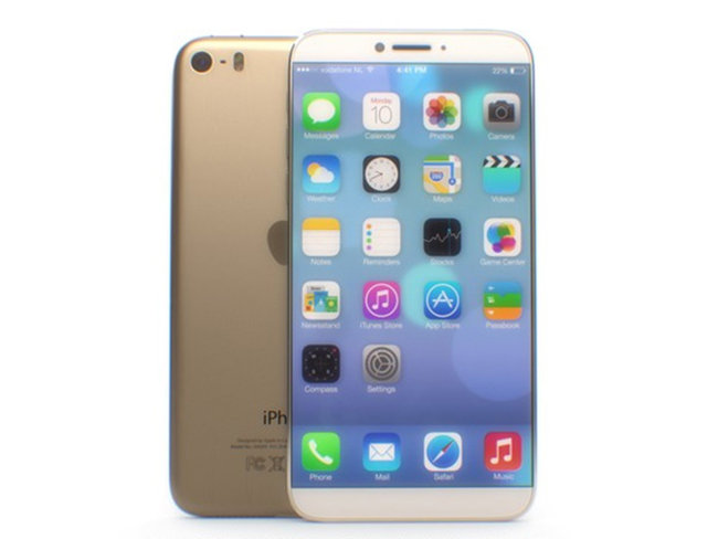 Look at this iPhone 6, we hope this is the iPhone 6. Wouldn't it be a great iPhone 6? - photo 2