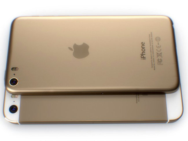 Look at this iPhone 6, we hope this is the iPhone 6. Wouldn't it be a great iPhone 6? - photo 6