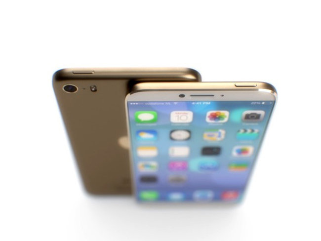 Look at this iPhone 6, we hope this is the iPhone 6. Wouldn't it be a great iPhone 6? - photo 7