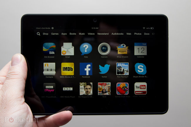 Amazon Kindle Fire HDX review - photo 3