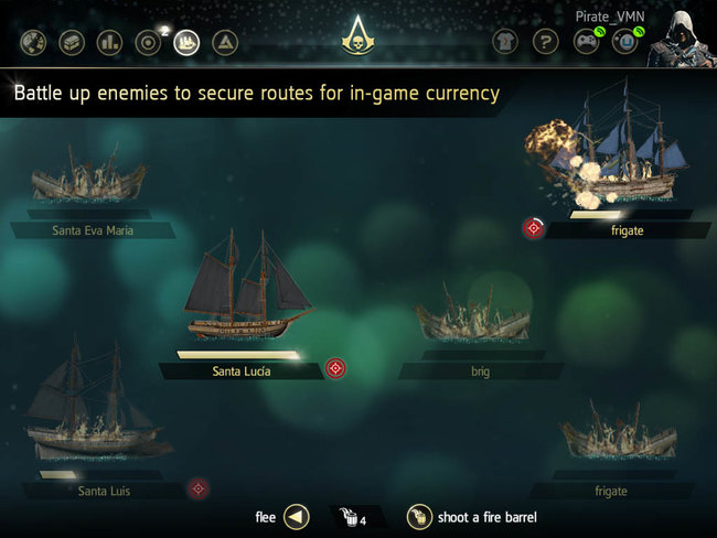 Assassin's Creed IV Black Flag Companion App now available for iPad and Android tablets - photo 5