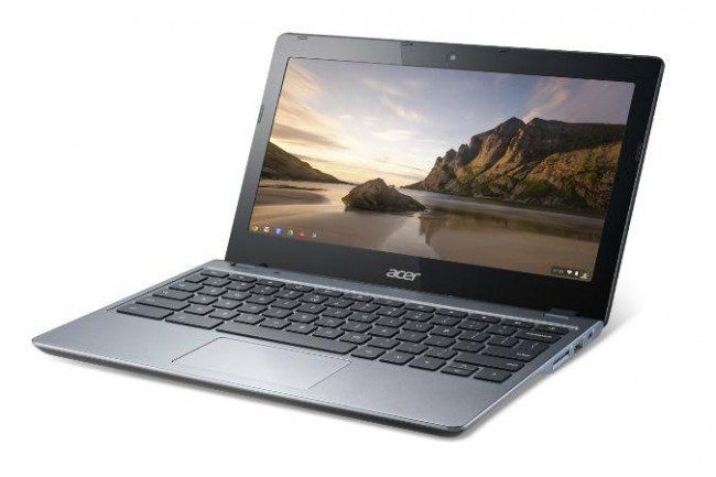 Acer C720-2848 Chromebook launches: Same as C720 but with half RAM and cheaper price - photo 2