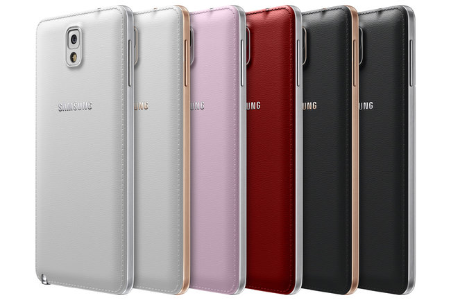 New Samsung Galaxy Note 3 colours heading to the UK, including Apple-esque gold trim - photo 1