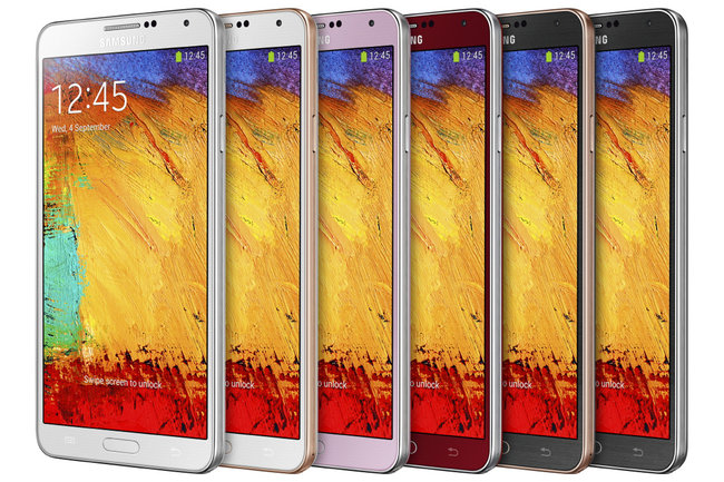 New Samsung Galaxy Note 3 colours heading to the UK, including Apple-esque gold trim - photo 2