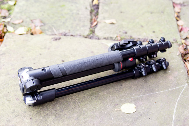 Hands-on: Manfrotto BeFree tripod review - photo 2