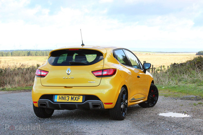 Renault Clio RenaultSport 200 Turbo EDC Lux review - photo 3