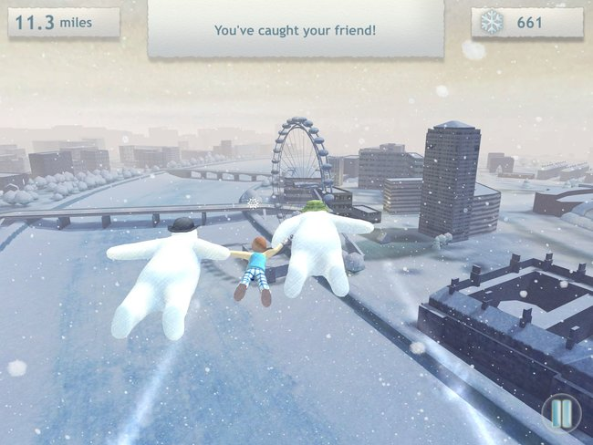 The Snowman and The Snowdog game hits iPad, iPhone and Android in time for Christmas - photo 1
