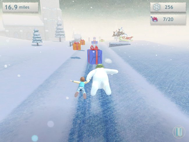 The Snowman and The Snowdog game hits iPad, iPhone and Android in time for Christmas - photo 4