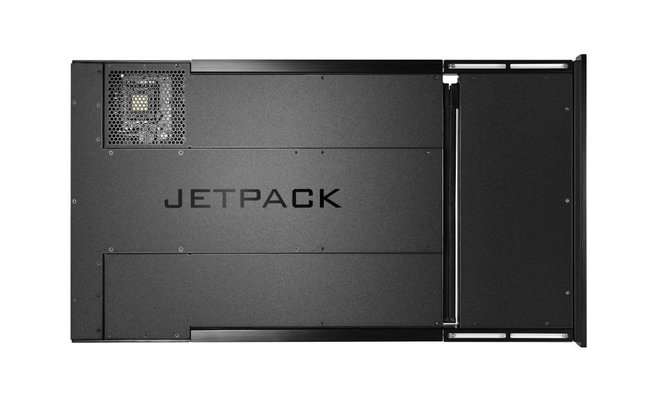 Piixl Jetpack SteamOS PC announced, straps to the back of your TV so you don't know it's there - photo 2