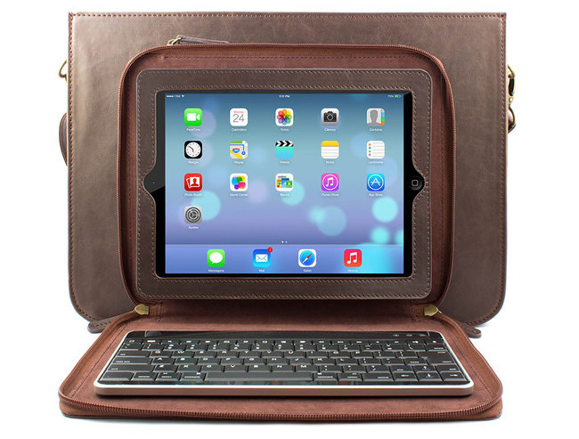 Proporta Stephenson Satchel combines iPad case with laptop bag for hipster chic - photo 3