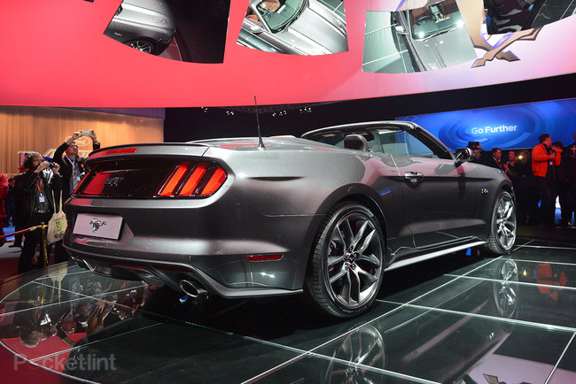 Ford Mustang GT 2015 coming to the UK: Pictures and eyes-on - photo 5