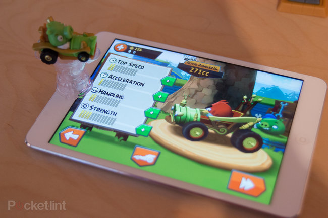Angry Birds Go! Telepods Pig Rock Raceway Set review - photo 12