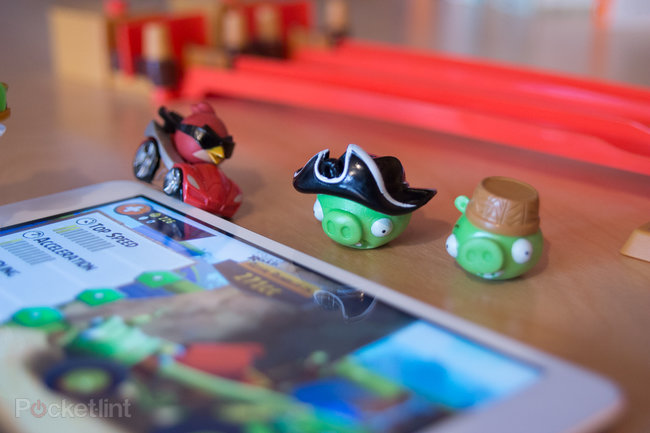 Angry Birds Go! Telepods Pig Rock Raceway Set review - photo 13