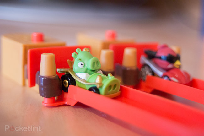 Angry Birds Go! Telepods Pig Rock Raceway Set review - photo 2