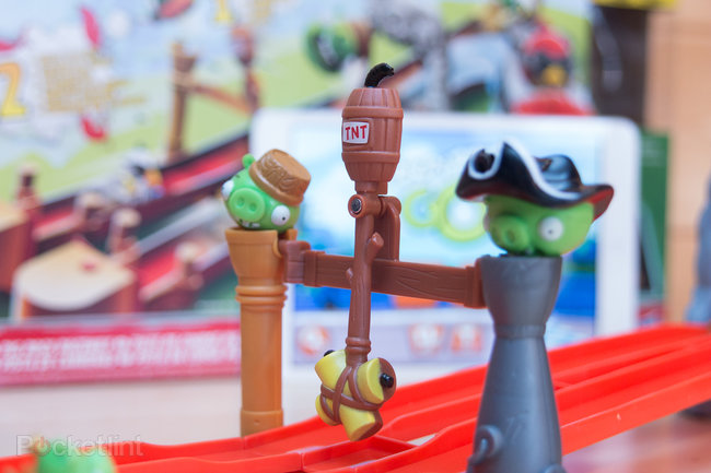 Angry Birds Go! Telepods Pig Rock Raceway Set review - photo 21