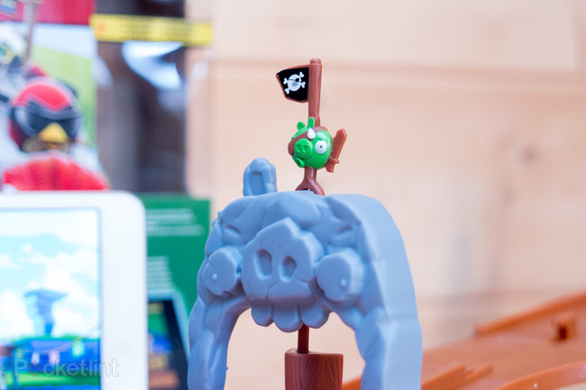 Angry Birds Go! Telepods Pig Rock Raceway Set review - photo 22