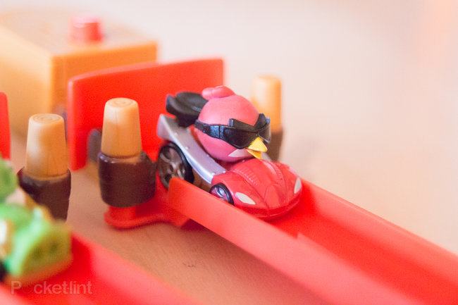 Angry Birds Go! Telepods Pig Rock Raceway Set review - photo 3