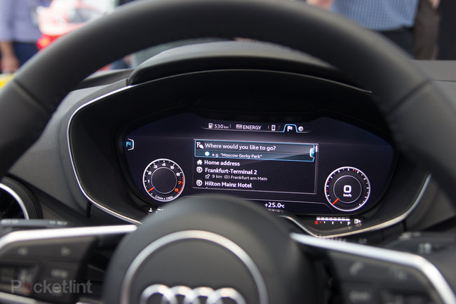 Audi partners with Nvidia to put virtual cockpit into new Audi TT (video) - photo 13