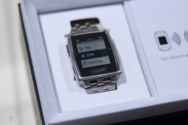 Hands-on with Mercedes Pebble and Mercedes Google Glass app - photo 1