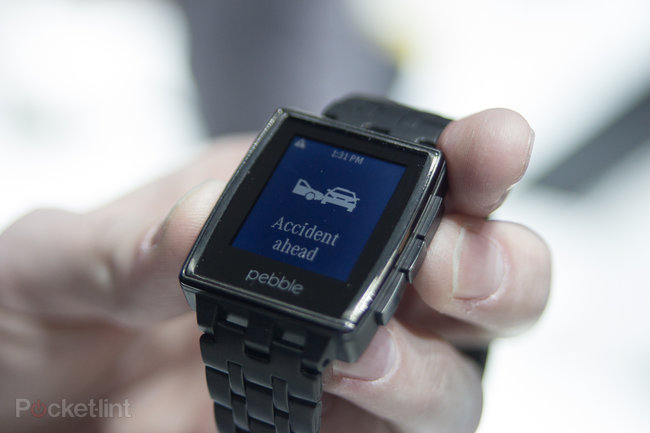 Hands-on with Mercedes Pebble and Mercedes Google Glass app - photo 3