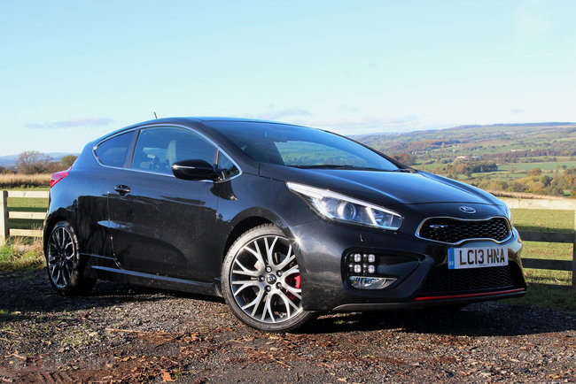 Kia Pro_Cee'd GT review - photo 3