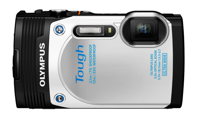 Olympus Stylus Tough TG-850 is the first waterproof compact camera to add a tilt-angle screen - photo 1