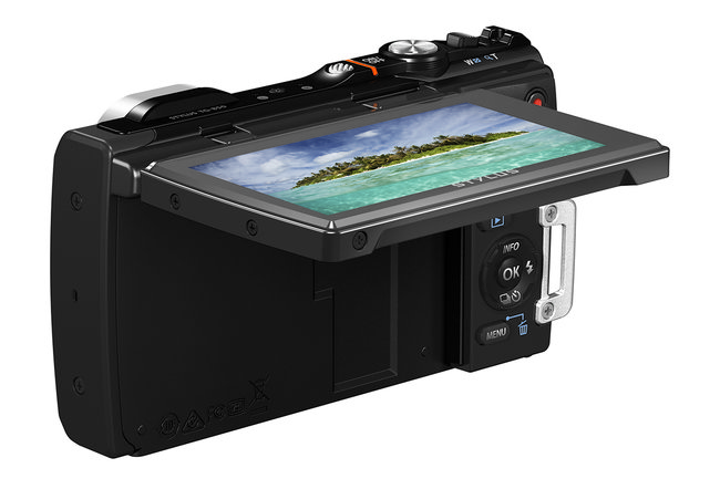 Olympus Stylus Tough TG-850 is the first waterproof compact camera to add a tilt-angle screen - photo 3