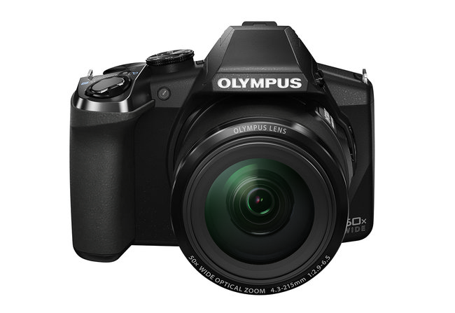 Olympus Stylus SP-100EE: 'Eagle eye' superzoom camera adds dot-sight targeting feature - photo 1
