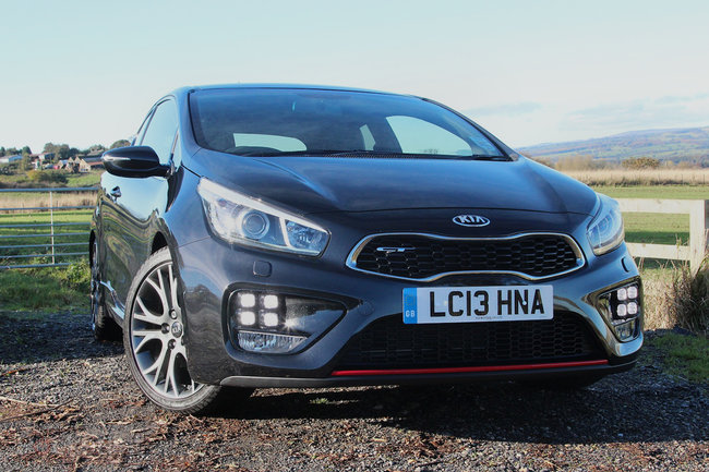 Kia Pro_Cee'd GT review - photo 2