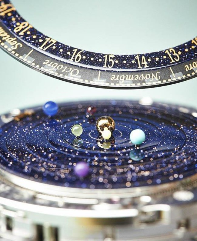 Van Cleef & Arpels' midnight planetarium watch could well be the most beautiful ever created - photo 2