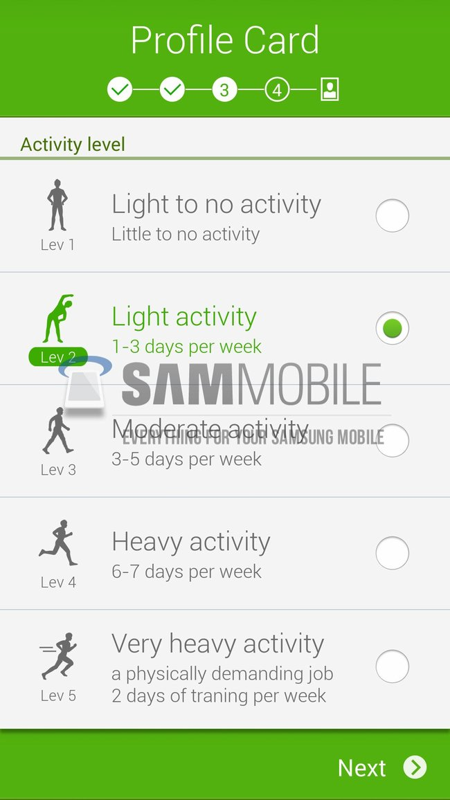 Samsung to unveil revamped S Health app with new version of TouchWiz on Galaxy S5 - photo 9