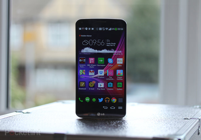 LG G Flex review - photo 1