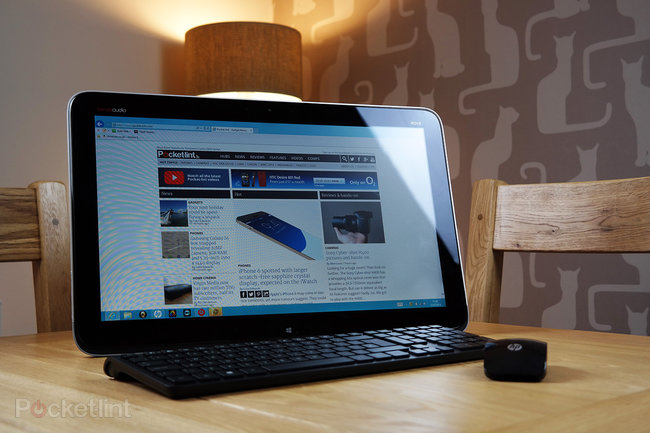 HP Envy Rove 20 review - photo 1