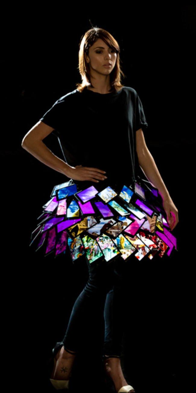 Nokia Lumia 1520 dress to be shown at London Fashion Week - photo 3