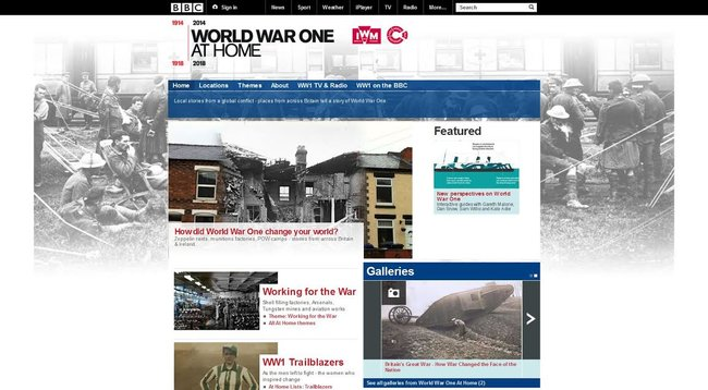 BBC 'World War One At Home' interactive project begins broadcasting 24 February - photo 4